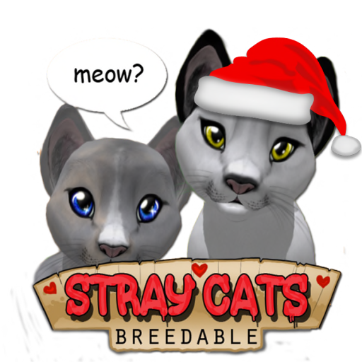 Stray Cats Breedables Xmas logo