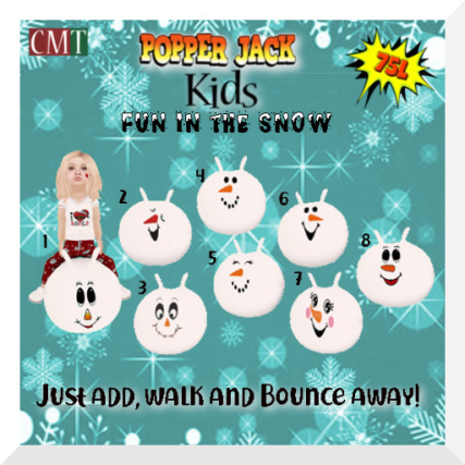 Popper Jack Kids - Fun in the Snow Gacha