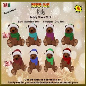Popper Jack Kids - Teddy Claus 2019 Gacha