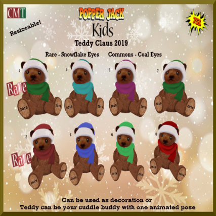 Popper Jack Kids - Teddy Claus 2019 Gacha