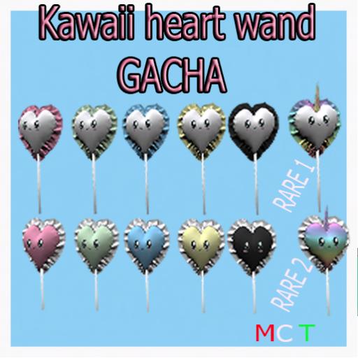 ((RBS)) Kawaii heart wand (GACHA)