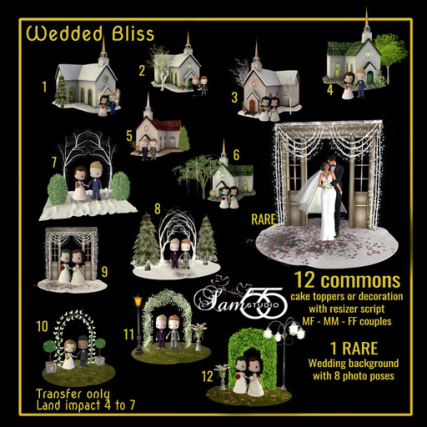 Sam's Studio - Wedded Bliss (512)
