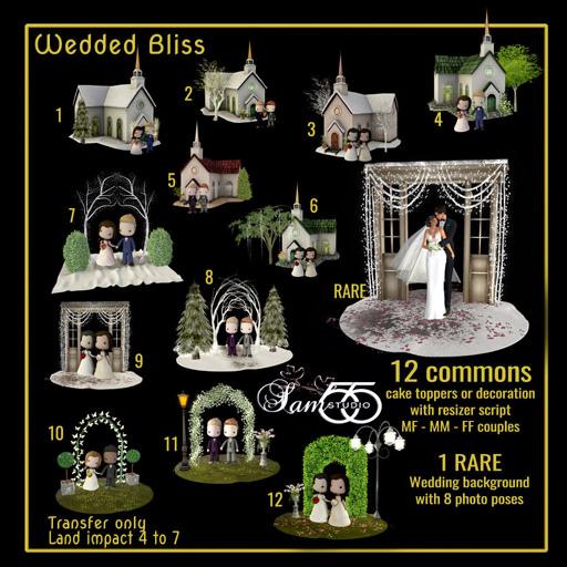 Sam's Studio - Wedded Bliss (512)