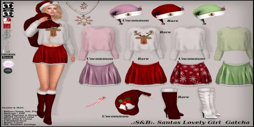 ._S&B_. Santas Lovely Girl Gatcha