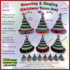 So Silly Dancing Singing Christmas Trees Gacha Ad 1