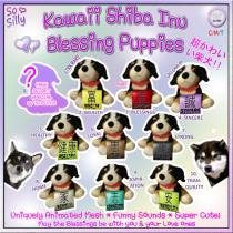 So Silly Good Fortune Japanese Puppies Gacha Ad Key 1