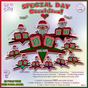 So Silly SPECIAL DAY Countdown (99 days) Gacha Key Ad 01