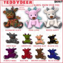 teddydeer gacha key square