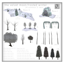 the velvet moon-frosted winter-gatcha