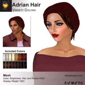 A&A Adrian Hair Variety Colors-pic