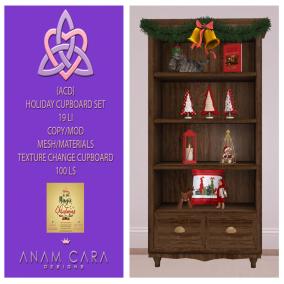 {ACD} Holiday Cupboard Set Xmas Expo 2019 Vendor Photo