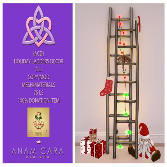 {ACD} Holiday Ladders Xmas Expo 2019 Vendor Photo