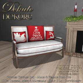 Adele Christmas Sofa