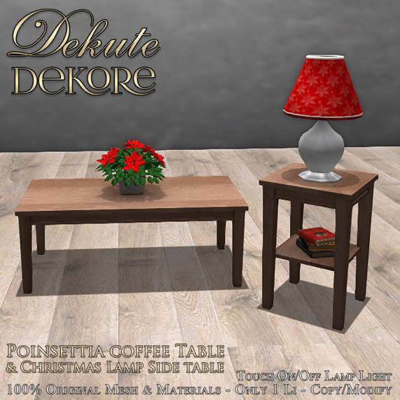 Adele Christmas Table Set