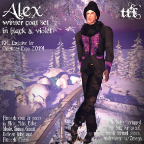 Alex Winter Coat Set - RFL Exclusive Christmas Expo 2019 by TFF