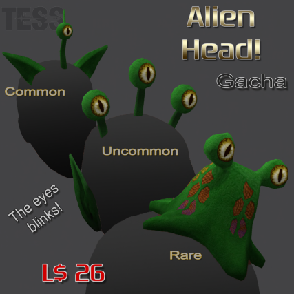 alien head gacha