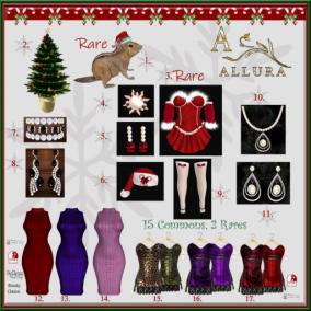 Allura Holidays Gacha Machine Ad