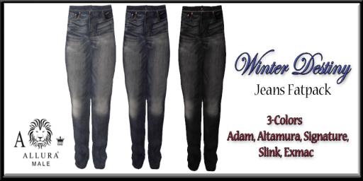 Allura Male Winter Destiny Jeans Fatpack Ad 512