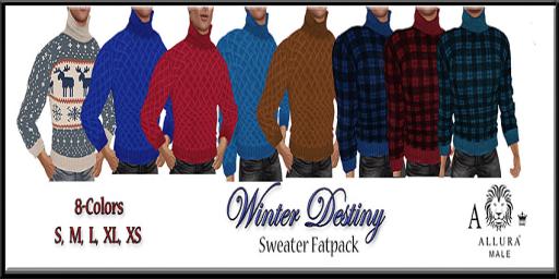 Allura Male Winter Destiny Sweater Fatpack Ad 512