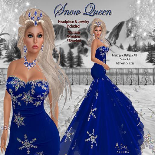 Allura Snow Queen Ad 512