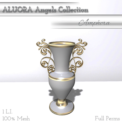 ALUORA Angels Collection Amphora - Full Perms