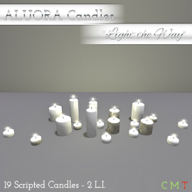 ALUORA Candle Rows _Light the Way_ - CM