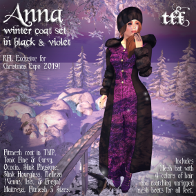 Anna Winter Coat Set - RFL Exclusive Christmas Expo 2019 by TFF