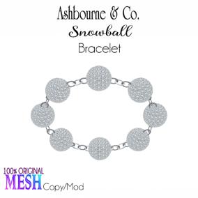 Asbourne & Co - snowball-bracelet100