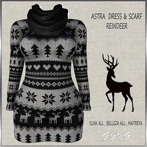 ASTRA DRESS REINDEER