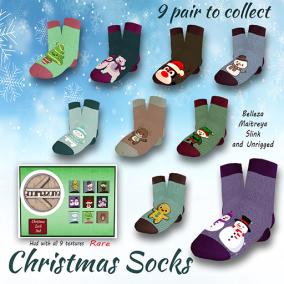[Boomerang] - Christmas Socks