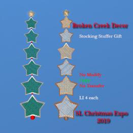 Broken Creek Decor - Star Wall Decor gift