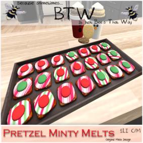 BTW - Pretzel Minty Melts AD