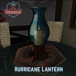 CAMP STEELHEAD HURRICANE LANTERN - STOCKING STUFFER