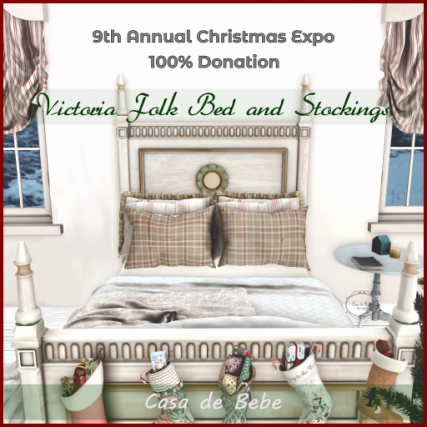 {CdB} Victoria Folk Bed and Stockings_AD