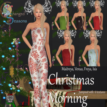 Changed Seasons - Christmas Morning Jumpsuit 1219