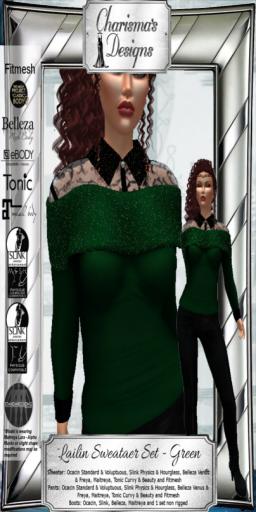 Charisma's Designs Lailin Set Green PIC