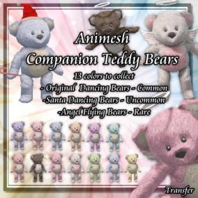 Chunky Monkey Gacha Animesh Teddy Bear Ad Pic