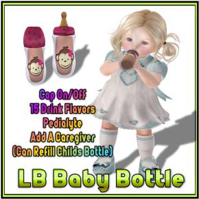 Chunky Monkey Stocking Stuffer Baby Bottle