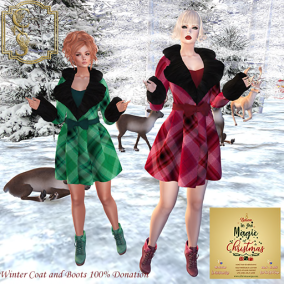 Classy N Sassy Winter Coats and Boots Christmas Expo 100% donat