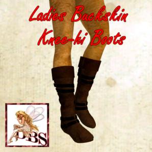 _DBS_ Ladies Boots - Buckskin