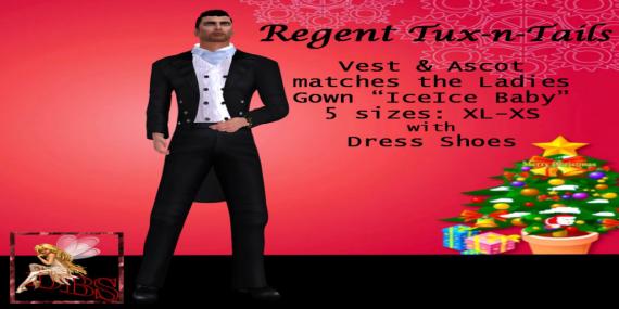 _DBS_ Mens Tuxedo - Regent Tux-n-Tails