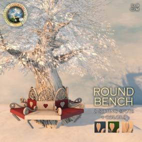 DDDF _ Round Bench