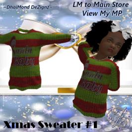 DhiaMond Dezingz - Xmas Sweater 1