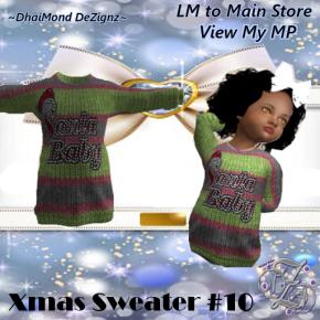 DhiaMond Dezingz - Xmas Sweater 10