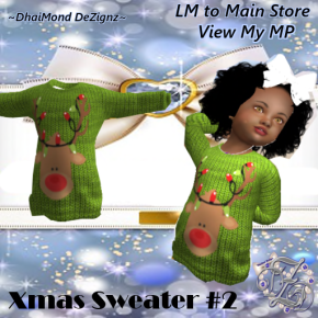 DhiaMond Dezingz - Xmas Sweater 2