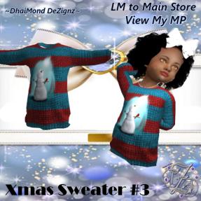 DhiaMond Dezingz - Xmas Sweater 3