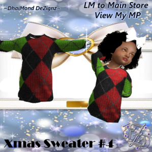 DhiaMond Dezingz - Xmas Sweater 4
