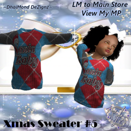 DhiaMond Dezingz - Xmas Sweater 5