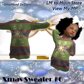 DhiaMond Dezingz - Xmas Sweater 6