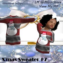 DhiaMond Dezingz - Xmas Sweater 7